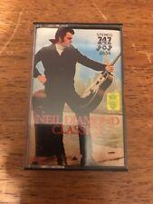 747 Saudi Arabia Neil Diamond Classics Cassette Free US Shipping