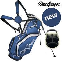 MacGregor 6-WAY Divider Response 9'' Golf Stand Bag - Navy/Silver NEW! 2020