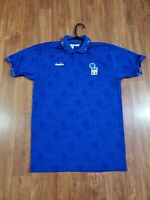 Vintage 1994 World Cup Diadora Italy Jersey short Sleeve Large Soccer Futbol