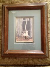 The Sisters Framed Signed Retired Ed. Print Vern Hippensteal Smokey Mt Artist