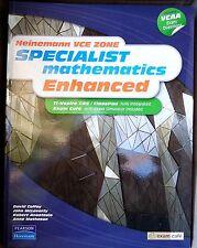HEINEMANN VCE ZONE:  SPECIALIST Mathematics Enhanced  VCAA Exam Questions