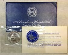 1972-S Eisenhower Ike SILVER Dollar in Original Mint Envelope