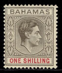 BAHAMAS GVI SG155d, 1s pale brownish grey & crimson, M MINT. Cat £20.