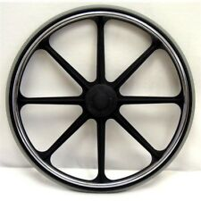 New Solutions RW191P 24 x 1 in. Wheels for Wheelchair, Set of 2