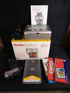 Kodak EasyShare Printer Dock Plus, DX7630 6.1MP Digital Camera Bundle READ DESC.