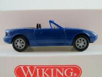 Wiking 18804 Mazda MX-5 (1989-1998) in blau 1:87/H0 NEU/OVP
