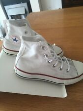 Convers All Star Unisex White High Top Size 13