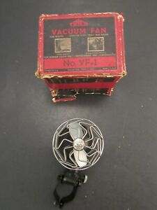 Original 1930 's Vintage Accessory Trico Vacuum Defroster Vent Fan New Old Stock