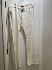 James Jeans Cured by Seun Basic 5 Pocket Bootleg Frankie White size 32 NWT