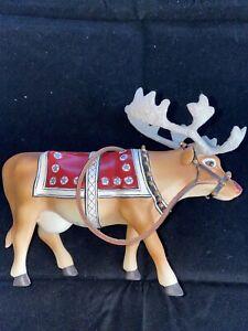 Moodolph CowParade 2002 9147 Christmas No Box Westland Giftware