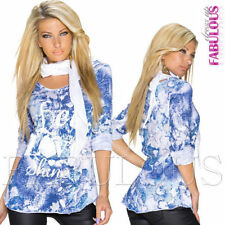 Unbranded Jeans Casual Tops & Blouses for Women