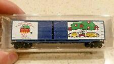 MTL Micro Trains Micro Mouse Holiday Car Christmas 1993 Box Car 30720