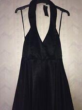 Miss Selfridge Size 10 Taffeta Halter Dress