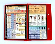 Folding Nursing Clipboard Red Great for nursing students and working nurses