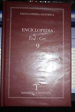 ENCICLOPEDIA DANTESCA FED GRI 9 BIBLIOTECA TRECCANI