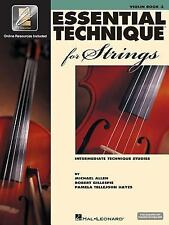 Essential Elements Technique Violin Book 3 ~ Interactive PlayAlong EEi Free Ship