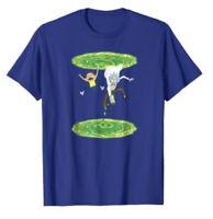 Rick and Morty Mens Shirt Size Medium Portal Gun New T-Shirt Adult Swim NWT