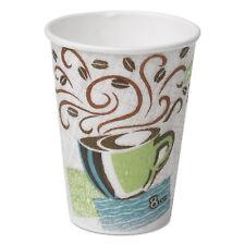 Dixie Hot Cups Paper 8oz Coffee Dreams Design 500/Carton 5338DX