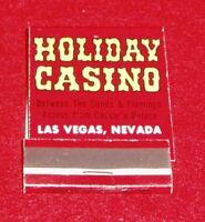 Vintage Las Vegas  Holiday Hotel Matchbook Unstruck