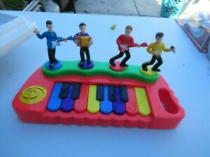 Wiggles 2004 singing musical piano TESTED WORKS