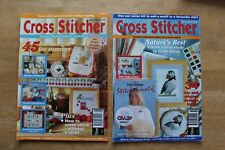 Cross Stitcher Magazines Issues 9 & 11 August & October 1993