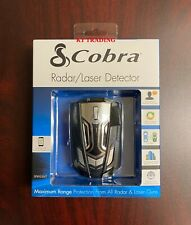 Cobra Radar Laser Detector, LED Icons / Voice / In-Vehicle Technology Filter
