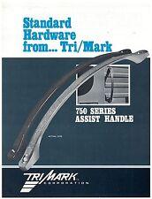 Tri/Mark 750 Series Assist Handle Spec Sheet  On/Off Highway Equipment
