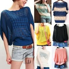 Regular Batwing, Dolman Knit Tops & Blouses for Women