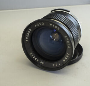 M42 mount wide angle lens Panagor 28mm f/2.5 very good conditions