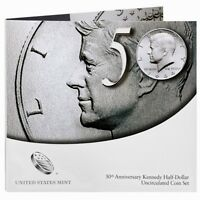 2014 50th Anniversary Kennedy Half Dollars Uncirculated Coin Set * K14 * SEALED
