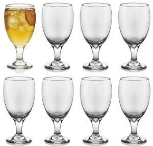 euro ware 8pc wine glass goblet 400ml