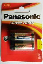 Panasonic 2CR5 6V Lithium Battery (DL245EL, 2CR-5L, KL2CR5, 2CR5R) Free P&P UK