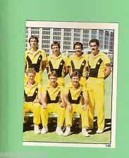 1983 SCANLENS CRICKET STICKER #146  WEST AUSTRALIAN  McDONALDS  CUP TEAM