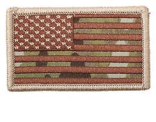 Forward USA Flag Patch Hat Jacket Shirt Hook Area On Back MULTI CAMO