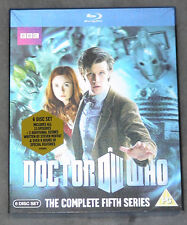 Doctor Who Complete Season Series Five 5 Lenticular Blu-ray Box Set NEW & SEALED