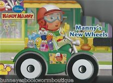 MANNYS NEW WHEELS Handy Manny NEW Toddler BOARD Book DISNEY English SPANISH Word