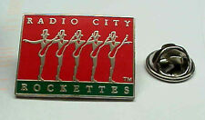 RADIO CITY MUSIC HALL THE ROCKETTES NYC LICENSED DANCING GIRLS ENAMEL PIN