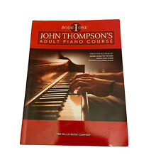 JOHN THOMPSON'S ADULT PIANO COURSE Book 1~Beginner Piano Lessons~Willis Music