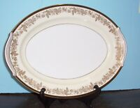 """NORITAKE BORDEAUX PLATTER 16.25"""" NEVER USED FREE U S SHIPPING  DISCONTINUED"""
