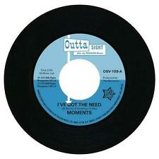 "MOMENTS I've Got The Need / Nine Times NEW NORTHERN SOUL 45 (OUTTA SIGHT) 7"" R&B"