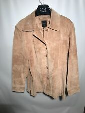 Colebrook Outwear Suede Leather Tan Jacket Size XL Womens NICE!!