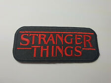 STRANGER THINGS LOGO iron on or sew on Patch tv show netflix
