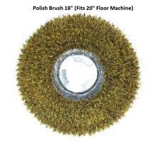 """Floor Machine Polish Brush 20""""  Mixture of Tampico & Palymyra Fibers"""