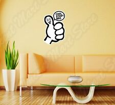 "Cool Story Bro Funny Internet Chat Wall Sticker Room Interior Decor 18""X25"""