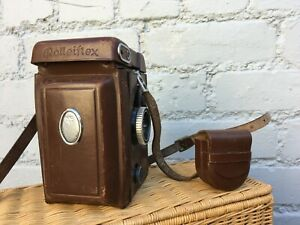 ROLLEIFLEX 6x6 Auto Twin Lense 1:3.5 75mm Vintage German