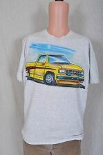 Vintage 1990 gray Chevy Chevrolet Pickup air brushed t shirt M