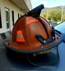 Leather Composite Fire Helmet