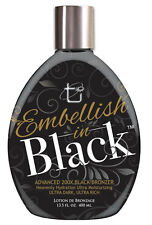 Tan Inc. Embellish in Black Tanning Lotion with Advanced 200X Black Bronzer