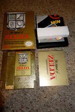 Legend of Zelda (Nintendo Entertainment System NES, 1987) Complete NEAR MINT L