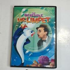 The Incredible Mr. Limpet Don Knotts Carole Cook DVD Kids Movie DVD199